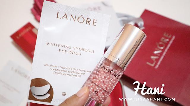 Lanore Skincare fokus untuk whitening dan anti aging