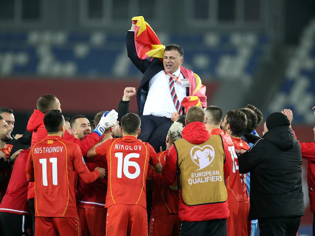 Austria VS North Macedonia on KTN Home photo