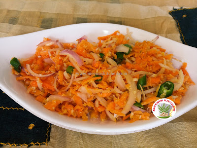 Carrot Onion Salad