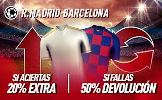 sportium Promo Clasico Real Madrid vs Barcelona 1 marzo 2020