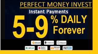 Perfect money investment