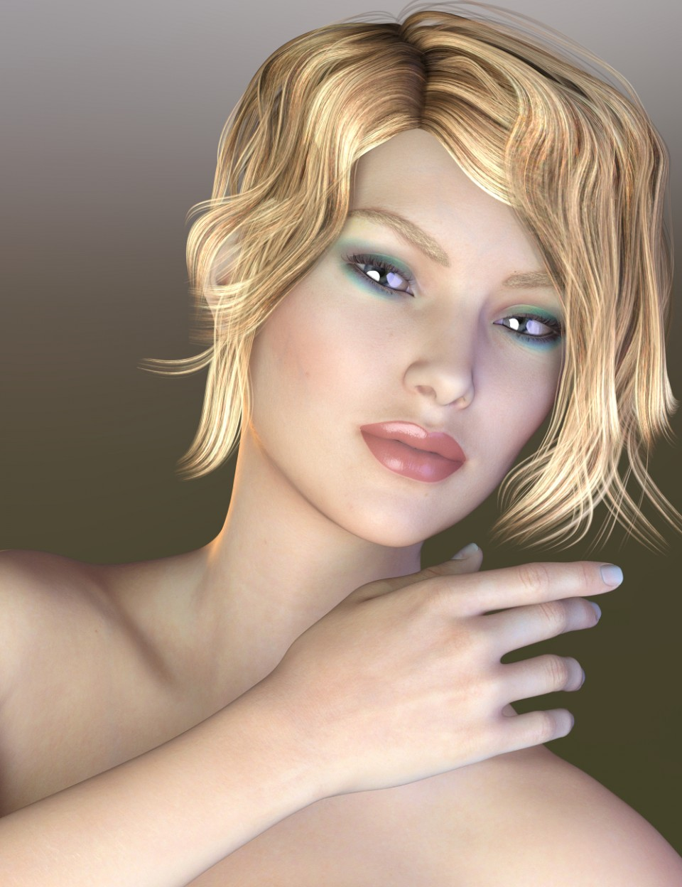 DAZ 3D - Beautiful Skin Iray Genesis 3 Female(s)|Poser and DAZ