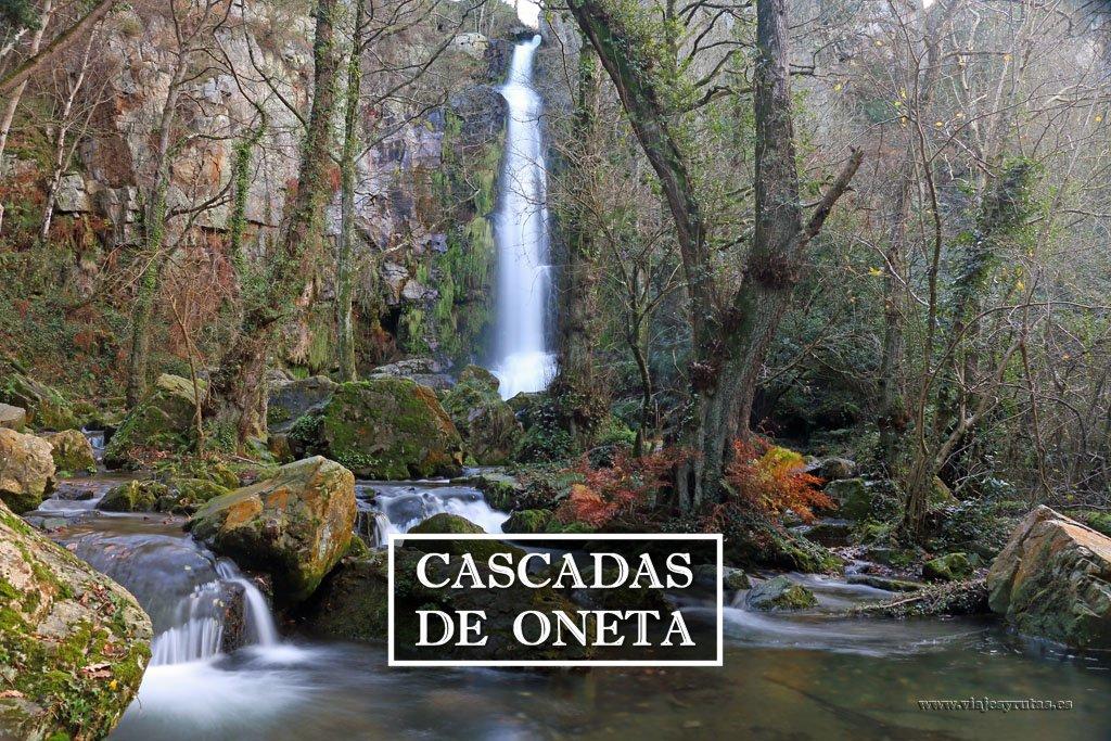 Ruta de las cascadas de Oneta, monumento natural
