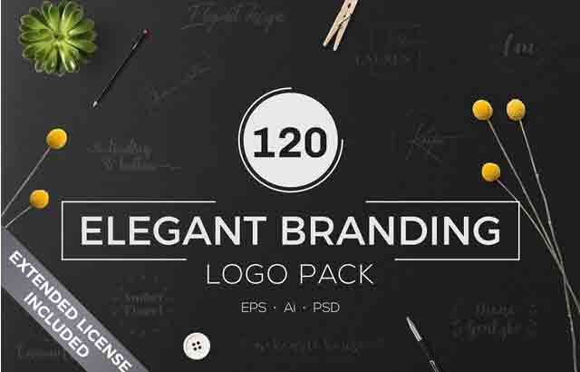 Download 640 Premade Logos Mega Bundle By XpertgraphicD Free Download