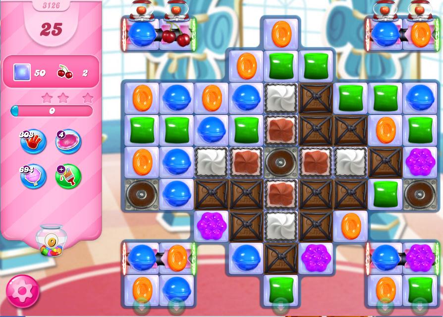 Candy Crush Saga level 3126