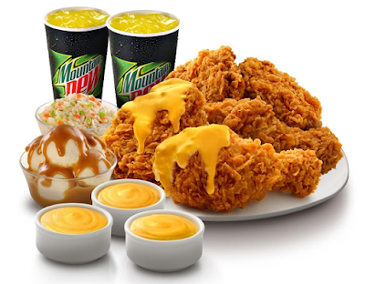 KFC Cheesy Onion Crunch CPUV Nuffnang