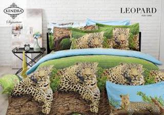 Sprei Kendra Signature Leopard