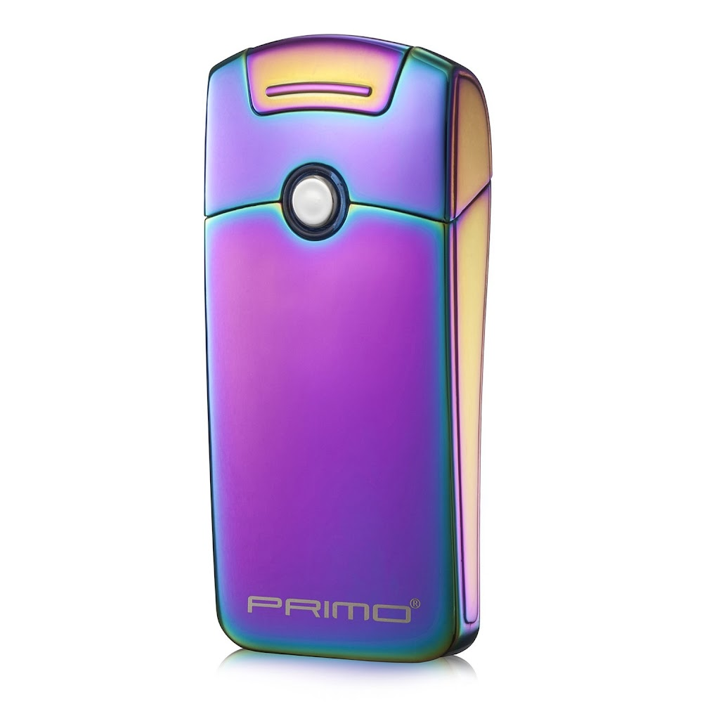 Primo Coil lighters USB Rechargeable Windproof Tesla Arc Lighter(Magic Rainbow)