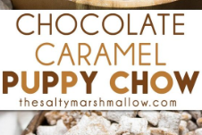 Chocolate Caramel Puppy Chow