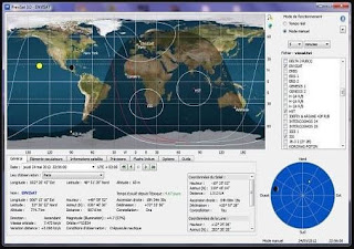 برنامج, لمراقبة, وتتبع, ومشاهدة, مسارات, الأقمار, الصناعية, على, الكمبيوتر, PreviSat