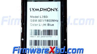 Symphony L250i Flash File