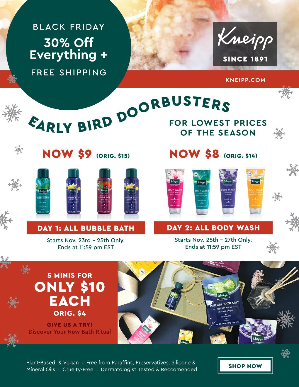 Kneipp Black Friday page 2