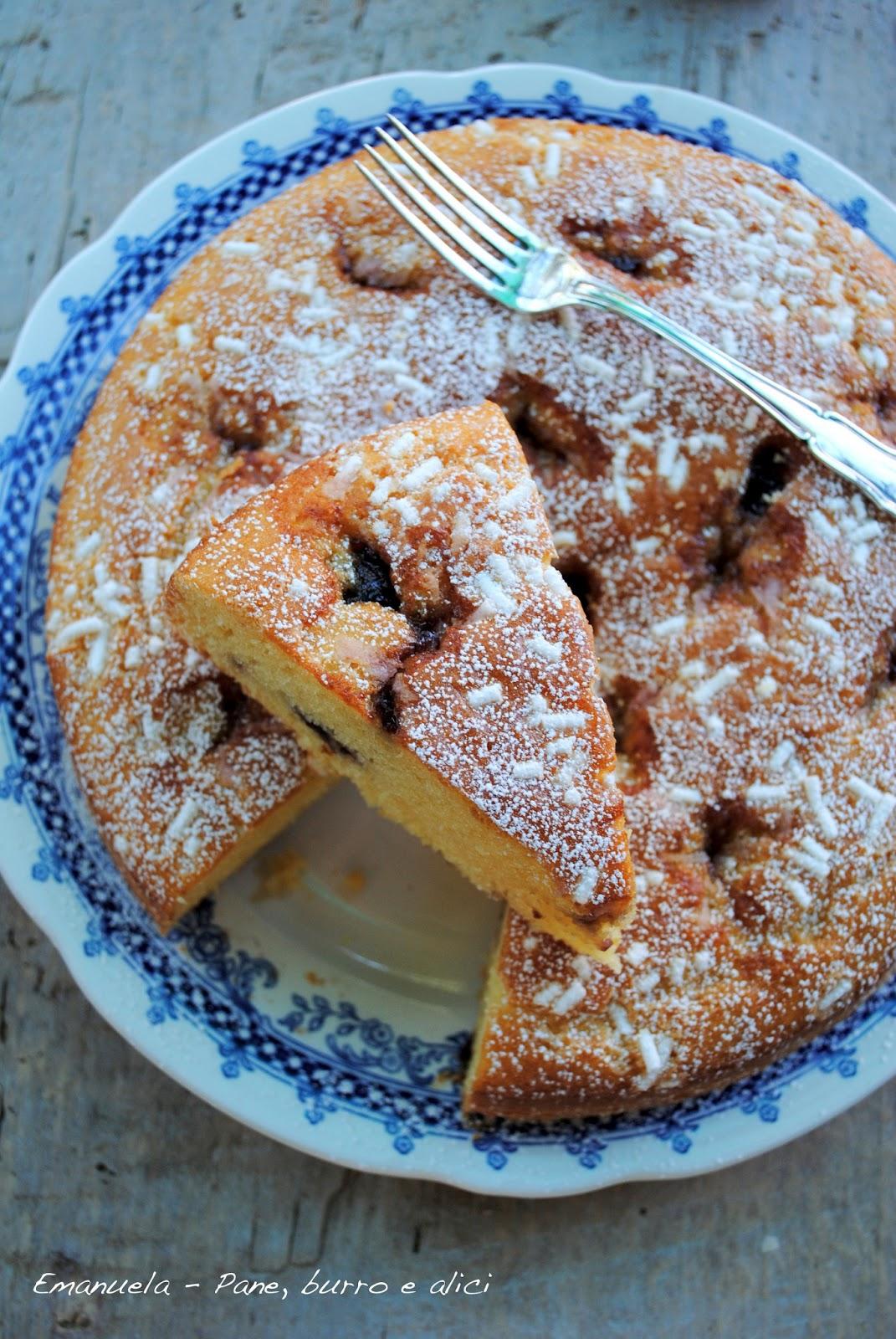 Ben noto Pane, burro e alici: Torta morbida al formaggio con marmellata di  MU84
