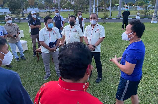 Sugianto Sabran Siap Berangkatkan 216 Orang Kontingen Kalteng pada 18 Cabor ke PON XX Papua.lelemuku.com.jpg