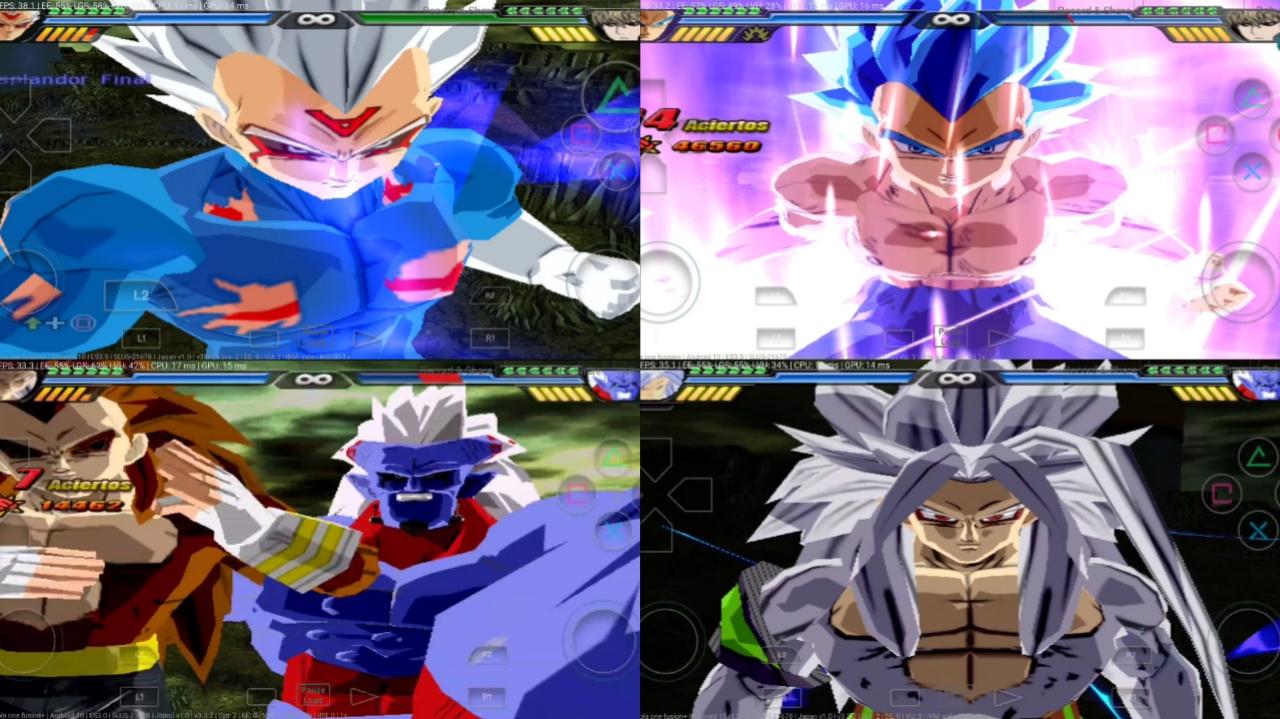 Anime War Vs Dragon Ball AF PS2 ISO