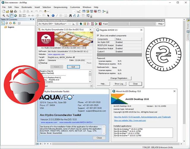 Aquaveo Arc Hydro Groundwater Toolkit v3.5.0