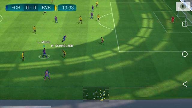 تحميل لعبة بيس برو إيفولوشن 2018 للأندرويد : Pro Evolution Soccer 2018 مضغوطة