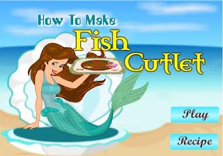 Game nàng tiên cá nấu ăn vui nhất