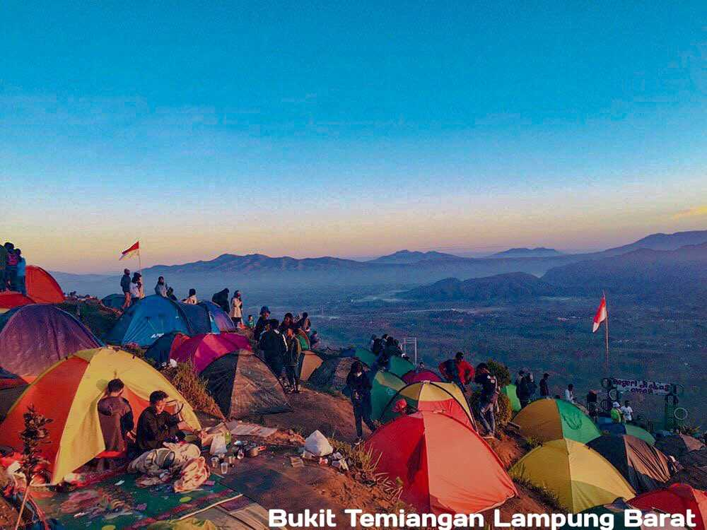 Bukit Temiangan Lampung Barat