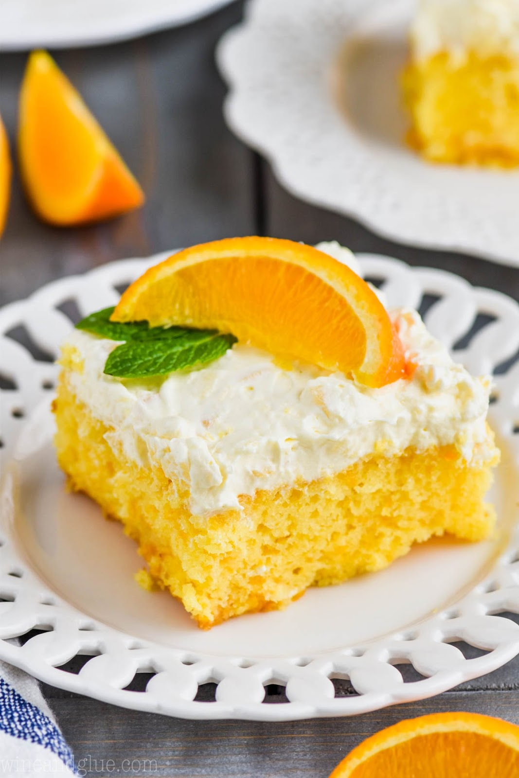 Mandarin Orange Cake #cakes #delicious #desserts #orange #easy