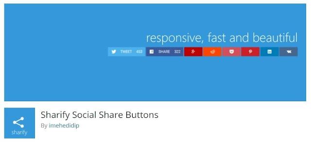 Wordpress Social share plugins