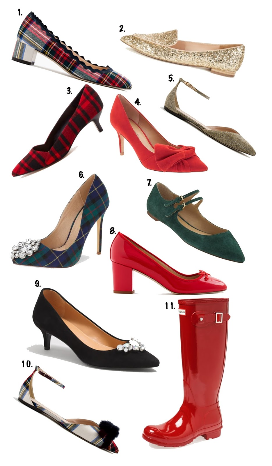 Festive Shoes - Something Delightful Blog