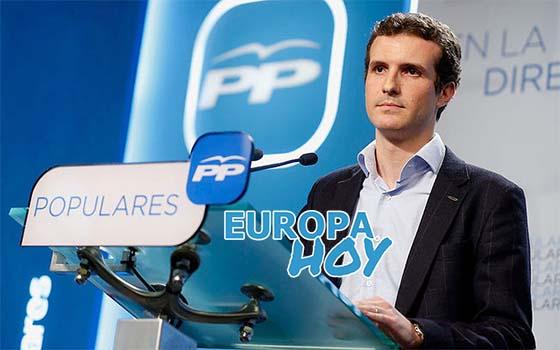 Pablo Casado PP Europa Hoy