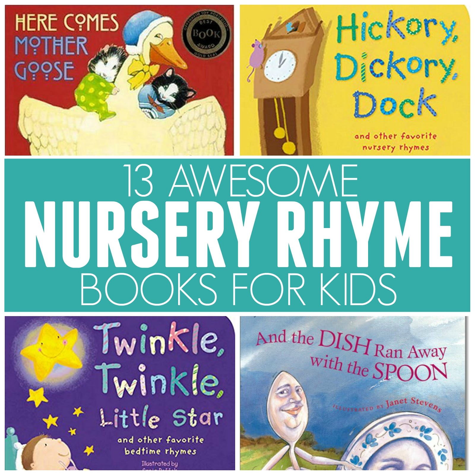toddler approved 13 awesome nursery rhyme books for kids