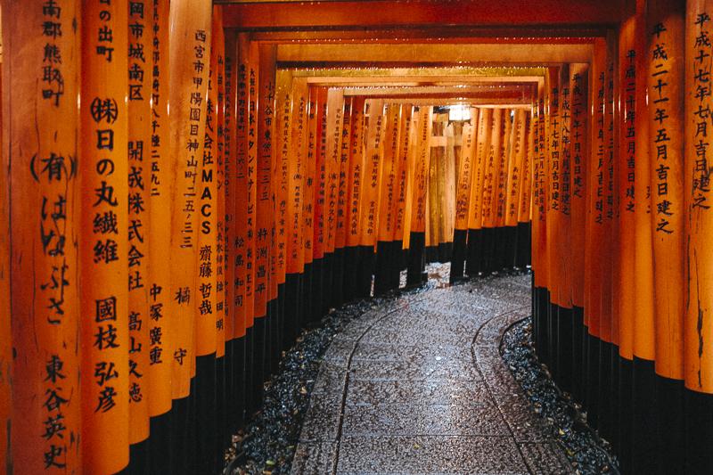 Santuario sintoista Fushimi Inari en Kyoto