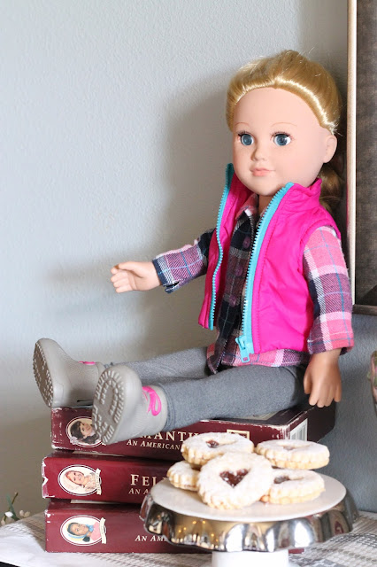 AK Party Studio Valentine Party American Girl Dolly and Me Tea