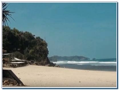 Pantai Sepanjang: Harga Tiket Masuk dsn Rute Menuju Lokasi