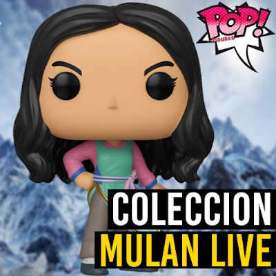 Lista de figuras funko pop Mulan live action