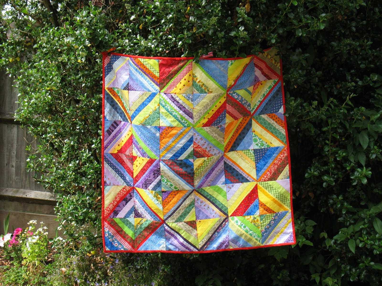 Koshka2 Quilts My First String Quilt