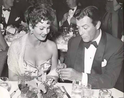 Robert Taylor with his ex-wife