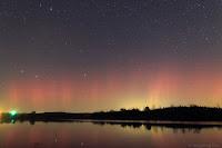 Zorza polarna sfotografowana 07.11.2017. Lokalizacja - Prague, Nebraska, Stany Zjednoczone. 41. stopień szerokości geograficznej północnej (!). Credits: Jingpeng Liu