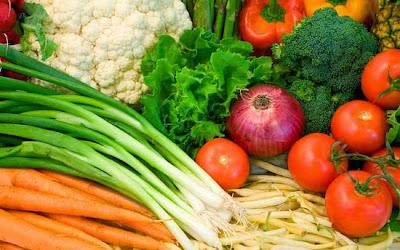 Legumes no Sacolão Butantã