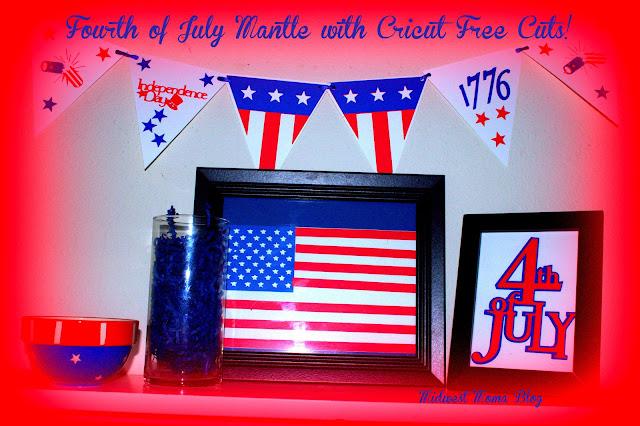Free Cricut Craft Room: Midwest Moma Blog: 4th Of July Cricut FREE CUTS