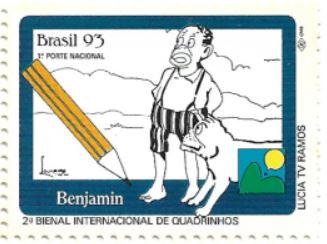 Selo personagem Benjamin