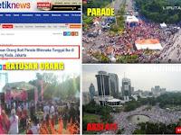 """Demo """"Parade Bhinneka Tunggal Ika"""" Ala Pendukung Ahok Sepi Peminat; Netizen: Diikuti Jutaan Makhluk Ghaib"""