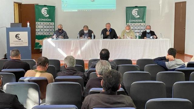 CONSAÚDE reúne prefeitos do Vale do Ribeira em Assembleia para discutir a saúde regional