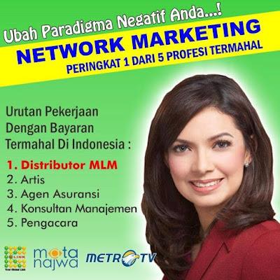 Network Marketing Mata Najwa