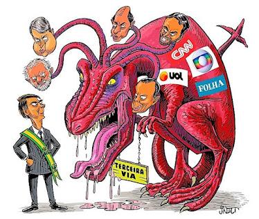 Bolsonaro contra os monstros da terceira via