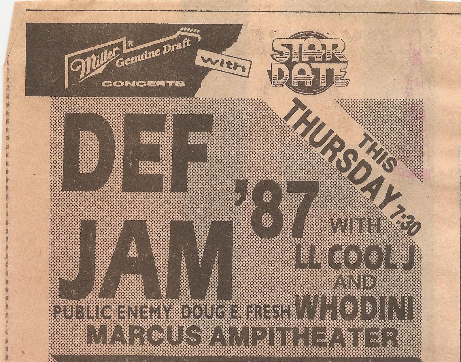 god made me funky   def jam tour 1987