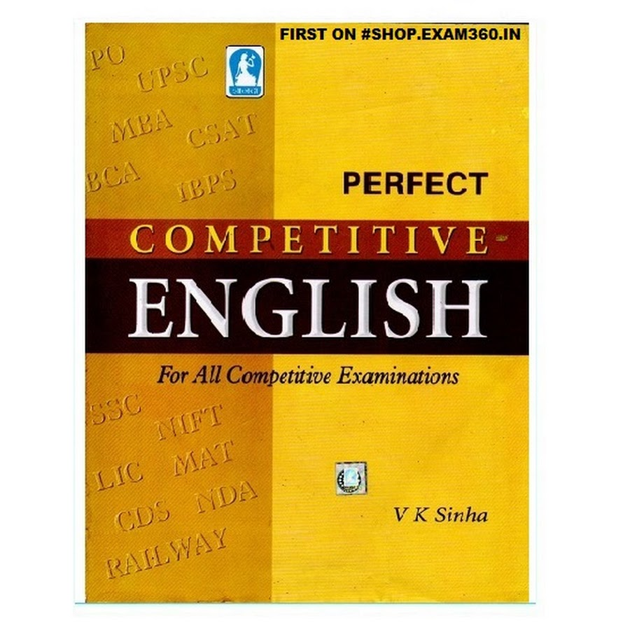 Perfect Competitive English - All Competitive Exams [Anglo Hindi