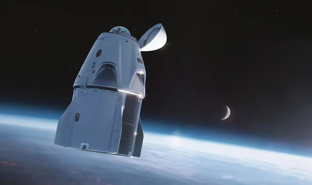 Crew Dragon gets a glass dome for space viewing