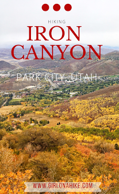 Hiking Iron Canyon, Park City, Utah, Hiking in Utah with Dogs