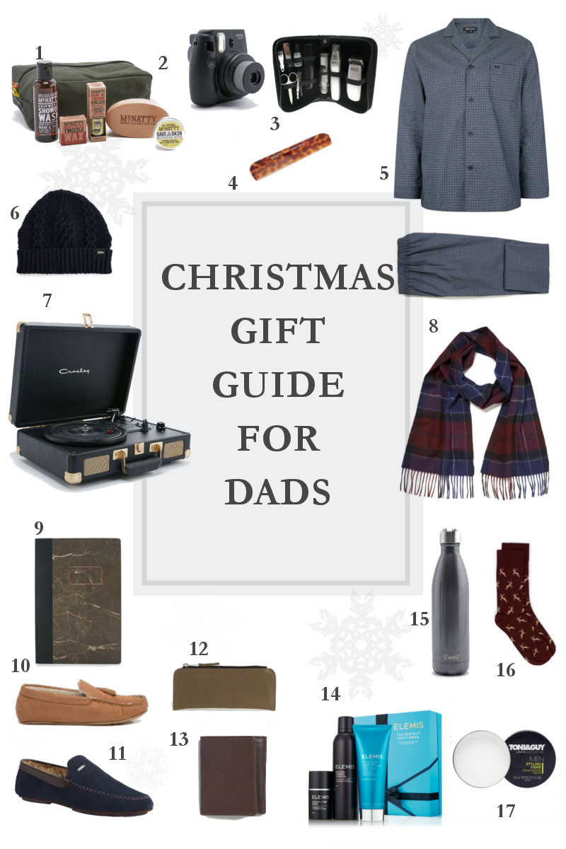 Christmas 2016 Gift Guide for Dads - www.theblushfulhippocrene.blogspot.com