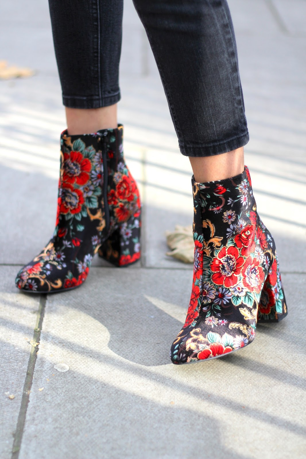 peexo floral autumn ankle boots new look