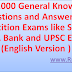 Top 11000 General Knowledge Questions and Answers for Competition Exams like SSC CGL, CHSL, Bank and UPSC Exams