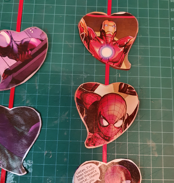 Creating Heart Shaped Mobiles